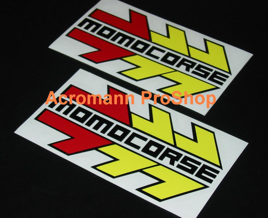 MOMO CORSE 6inch Decal x 2 pcs